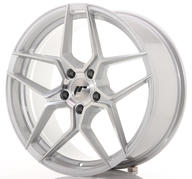 "19"" JAPAN RACING JR34 SILVER MACHINED"