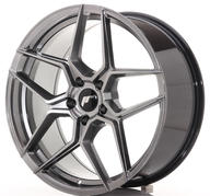 "20"" JAPAN RACING JR34 HYPER BLACK"