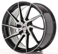 "19"" JAPAN RACING JR36 BLACK MACHINED"