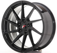 "20"" JAPAN RACING JR36 GLOSSY BLACK"