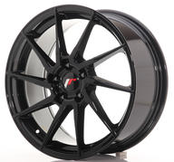 "18"" JAPAN RACING JR36 GLOSSY BLACK"