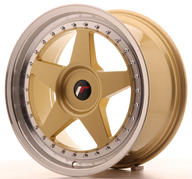 "18"" JAPAN RACING JR6 GOLD"