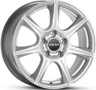 "17"" OXXO FURIOUS - Silver 7,5x17 - ET40"