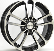 "16"" MONACO CL1 - Gloss Black / Polished 6,5x16 - ET35"