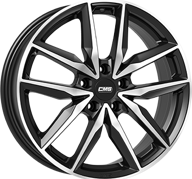 "18"" CMS C28 - Gloss Black / Polished 7,5x18 - ET51"