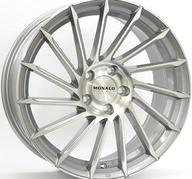 "18"" MONACO TURBINE - Light Gray Polished 8x18 - ET45"