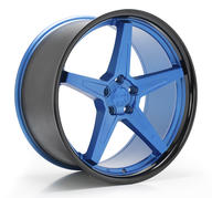 IMAZ WHEELS FF660 - OCEAN BLUE BLACK LIP