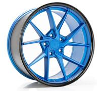 IMAZ WHEELS FF689 - OCEAN BLUE BLACK LIP