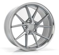 IMAZ WHEELS FF689 - SILVER MACHINED LIP