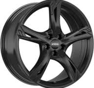 "18"" RONAL R62 - Glossy Black 7,5x18 - ET45"