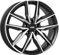 "19"" CMS C28 - Gloss Black / Polished 7,5x19 - ET46"
