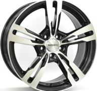 "20"" MONACO GP4 - Gloss Black / Polished 8,5x20 - ET45"