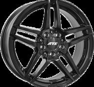 "20"" ATS MIZAR - Glossy Black 8,5x20 - ET62"