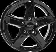 "17"" ANZIO SPRINT - Glossy Black 7,5x17 - ET40"