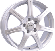 "17"" INTER ACTION SIRIUS - Silver 7x17 - ET45"