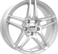 "17"" ATS MIZAR - Silver 8x17 - ET48"