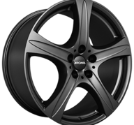 "17"" RONAL R55 SUV - Dull Black 7,5x17 - ET55"