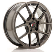 "17"" JAPAN RACING JR30 HYPER GREY"