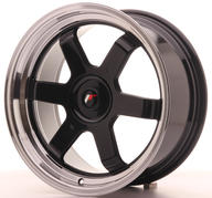 "17"" JAPAN RACING JR12 GLOSSY BLACK"