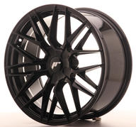 "18"" JAPAN RACING JR28 GLOSSY BLACK"