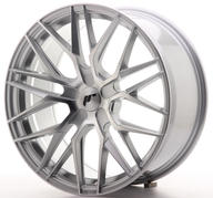 "19"" JAPAN RACING JR28 SILVER MACHINED"