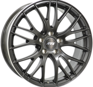 "19"" ATS PERFEKTION - Dull Black / Polished 8,5x19 - ET45"