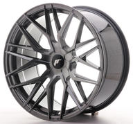 "20"" JAPAN RACING JR28 HYPER BLACK"