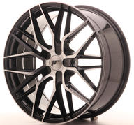 "20"" JAPAN RACING JR28 BLACK MACHINED"