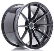 "20"" CONCAVER WHEELS - CVR4 - DOUBLE TINTED BLACK"