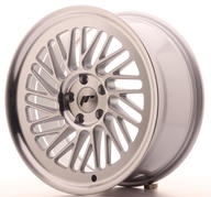 "18"" JAPAN RACING JR27 MACHINED SILVER"