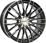 "18"" MONACO GP2 - Gloss Black / Polished 8x18 - ET45"