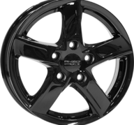"16"" ANZIO SPRINT - Glossy Black 6,5x16 - ET38"