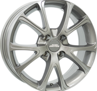 "17"" INTER ACTION PULSAR - Gloss Gray 7x17 - ET25"