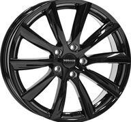 "20"" MONACO GP6 - Glossy Black 10x20 - ET45"
