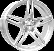 "17"" MONACO GP1 - Silver 7,5x17 - ET45"