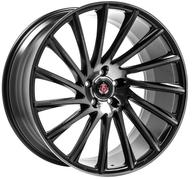 "22"" AXE WHEELS EX32 - Black Polished Face & Tinted"