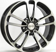 "17"" MONACO CL1 - Gloss Black / Polished 7x17 - ET45"