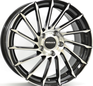 "18"" MONACO TURBINE - Gloss Black / Polished 8x18 - ET45"