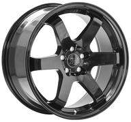 "18"" 1AV WHEELS - ZX6 - GLOSSY BLACK"