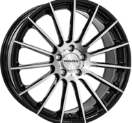 "19"" MONACO FORMULA - Gloss Black / Polished 8,5x19 - ET45"