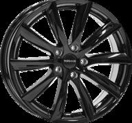 "19"" MONACO GP6 - Glossy Black 8,5x19 - ET35"