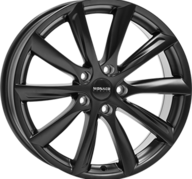 "20"" MONACO GP6 - Dull Black 10x20 - ET35"