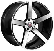 "17"" AXE WHEELS EX18 - Glossy Black Polished Face"