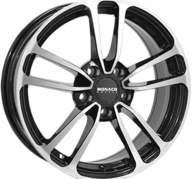 "19"" MONACO CL1 - Gloss Black / Polished 8x19 - ET45"
