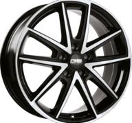 "17"" CMS C30 - Gloss Black / Polished 7x17 - ET51"