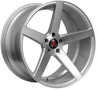 "19"" AXE WHEELS EX18 - Silver Brushed Face"