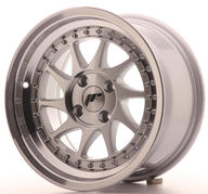 "15"" JAPAN RACING JR26 SILVER MACHINED"