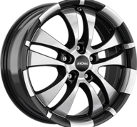 "16"" RONAL R59 - Gloss Black / Polished 7x16 - ET35"