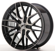 "17"" JAPAN RACING JR28 BLACK MACHINED"