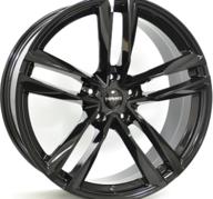 "22"" MONACO MC7 - Glossy Black 9x22 - ET26"